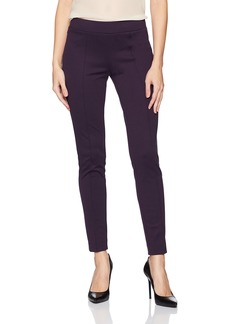 Kasper Women's Crepe Pant BlackBerry