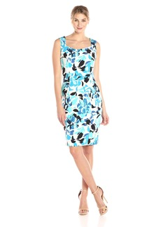 Kasper Women's Floral Printed Sheath Dress