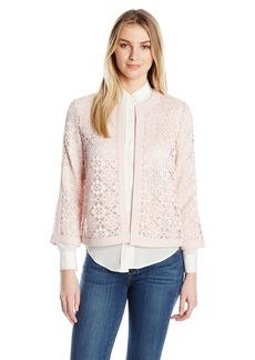 Kasper Women's Flyaway Lace Jacket