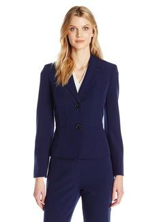 Kasper Women's Petite Size Two Button Jacket  16P