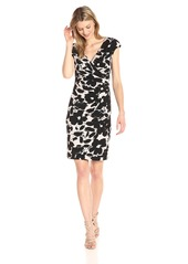Kasper Women's Printed Ity Dress  XS
