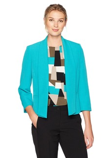 Kasper Women's Seamed Open Jacket