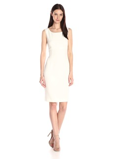 Kasper Women's Stretch Crepe Sheath Dress