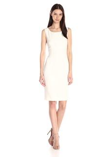 Kasper Women's Stretch Crepe Sheath Dress  18