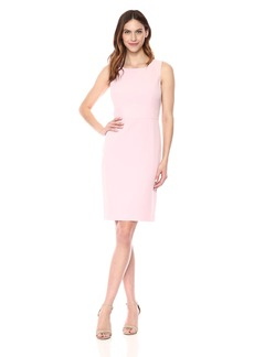 Kasper Women's Solid Crepe Sheath Dress