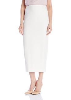Kasper Women's Stretch Crepe Column Skirt  18