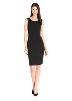 Kasper Women's Stretch Crepe Sheath Dress