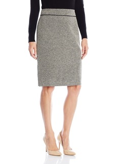 Kasper Women's Tweed Straight Skirt