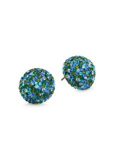 Kate Spade 12K Goldplated & Multicolor Embellished Dome Stud Earrings
