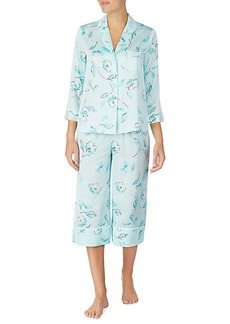 Kate Spade 2-Piece Floral Capri Pajama Set