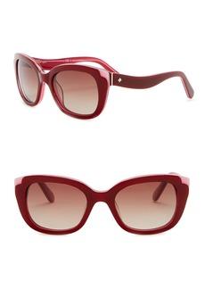 Kate Spade danella 50mm squared car eye sunglasses