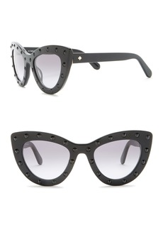 Kate Spade luann 50mm studded cat eye sunglasses