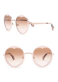 Kate Spade rosarias 53mm heart sunglasses