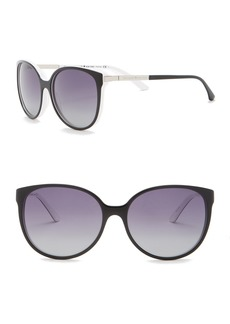 Kate Spade 56mm Shawna Rounded Sunglasses