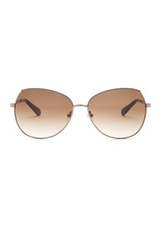 Kate Spade candis 58mm aviator sunglasses