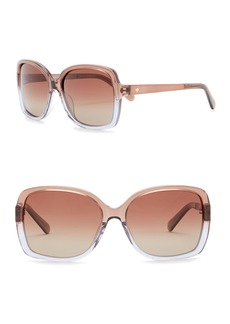 Kate Spade darilynn 58mm square sunglasses