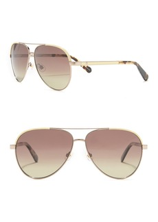 Kate Spade 59mm amarissa aviator sunglasses
