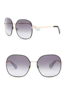 Kate Spade 59mm Carlisa Square Sunglasses