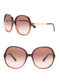 Kate Spade 60mm oversized sunglasses