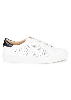 Kate Spade Aaron Lace-Up Leather Sneakers