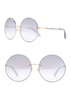 Kate Spade abia 59mm round sunglasses