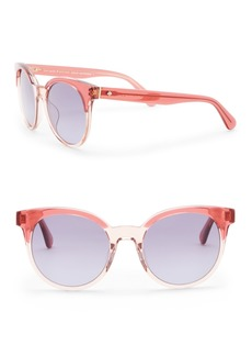 Kate Spade abianne 51mm round sunglasses