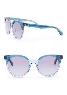 Kate Spade abianne 51mm round sunglasses