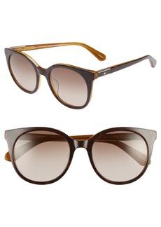 Kate Spade akayla 52mm cat eye sunglasses
