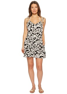 Kate Spade Aliso Beach #76 Flare Romper Cover-Up