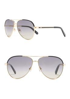 Kate Spade amarissa 59mm aviator sunglasses