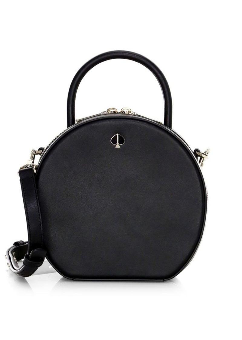 bdb23b5f9864 Kate Spade Andi Round Canteen Leather Crossbody Bag | Handbags