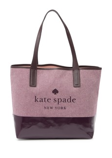 Kate Spade leather ash street compartment tote