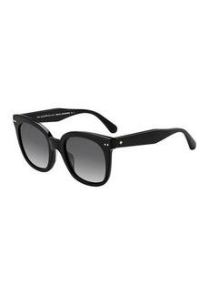 Kate Spade atalias round acetate sunglasses