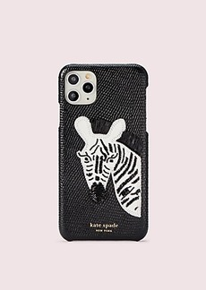 Kate Spade beaded zebra iphone 11 pro max case