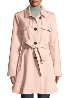 Kate Spade belted rain trench coat