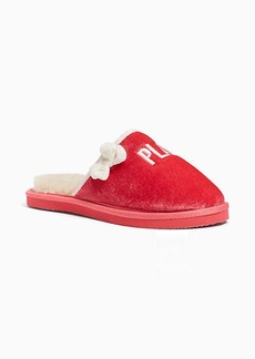 Kate Spade berry slippers