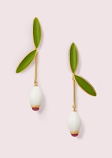 Kate Spade best buds linear earrings