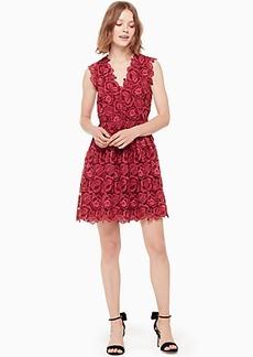 Kate Spade bicolor lace dress
