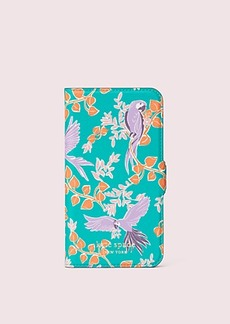Kate Spade bird party iphone 11 pro magnetic wrap folio case