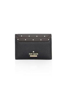 Kate Spade Blake Street Dot Leather Card Case