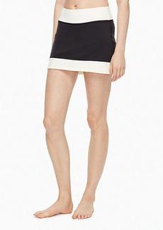 blocked frame skirt