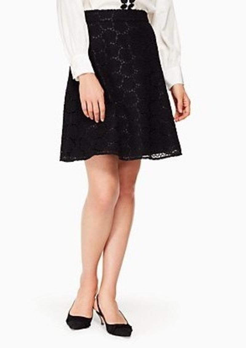 Kate Spade bloom flower lace skirt