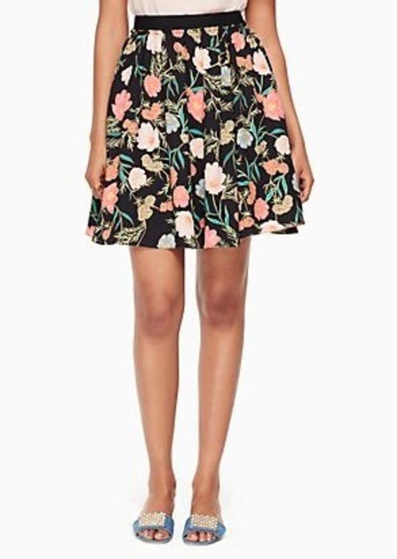 Kate Spade blossom skirt