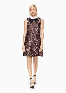 Kate Spade boho floral jacquard dress