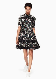 Kate Spade botanical poplin dress