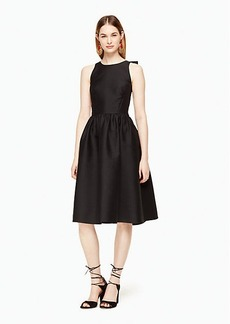 Kate Spade bow back fit and flare dress