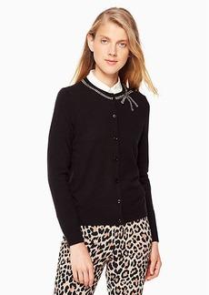 Kate Spade bow embellished cardigan