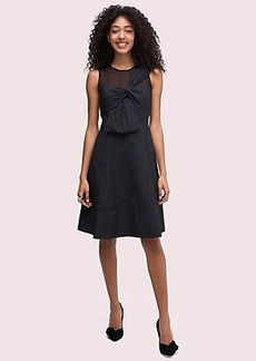 Kate Spade bow front faille dress