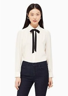 Kate Spade bow tie blouse