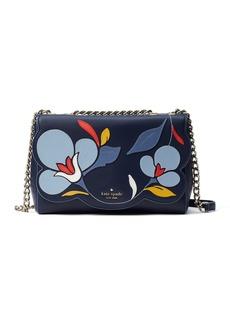 Kate Spade briar lane floral leather crossbody bag